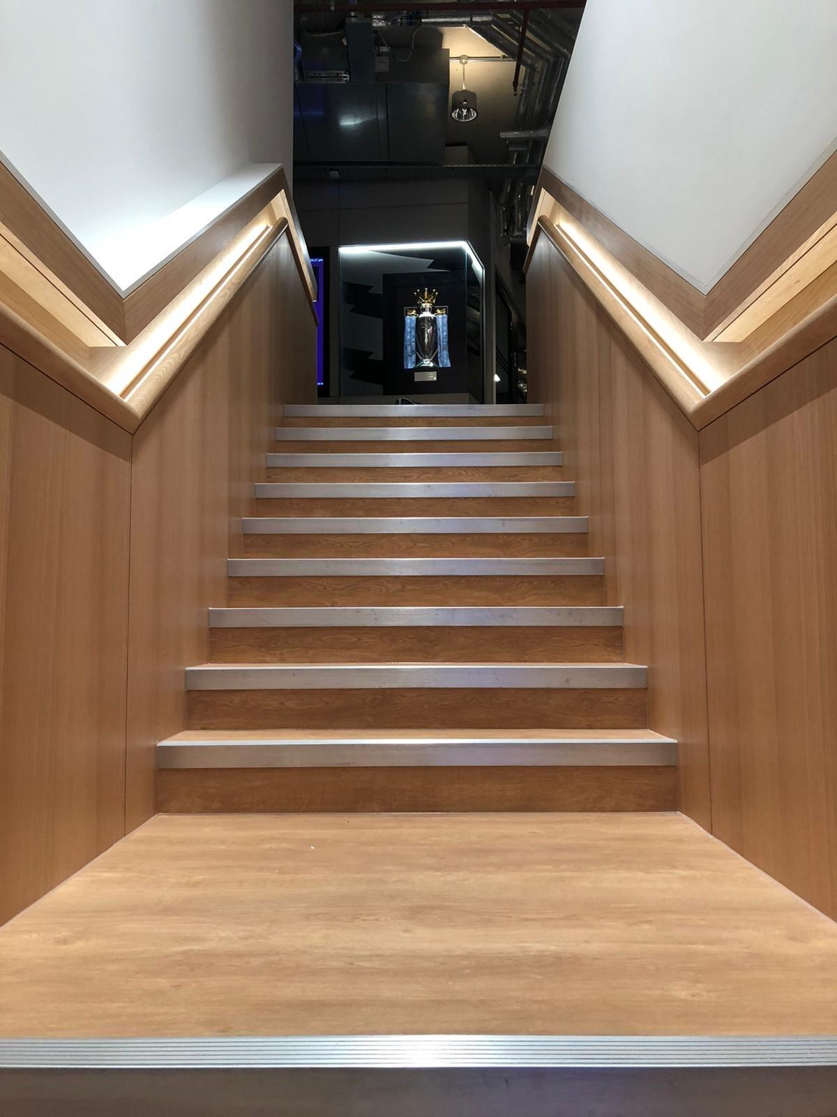 Premier League Stairway