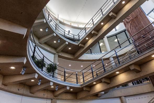 SAS Marlow Stairwell